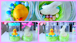 Homemade Easter Baskets by Diy Easter Gift Ideas Easter Jars Youtube