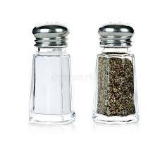 salt and pepper shakers salt and pepper shakers stock image image of dispensers 15914387