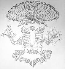 magic mushroom god character design by andrei verner