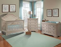 baby nursery furniture sets light blue wall paint white