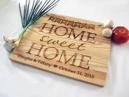personalized engraved cutting board home sweet home cutting board personalized engraved cutting board