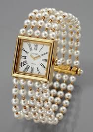 pearl bracelet watches images Faux pearl bracelet watch elegant 133 best a jewelry chanel jpg