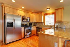 what color goes best with maple cabinets maple vs oak cherry and birch cabinets