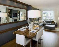 living decorating a small living room dining room combination