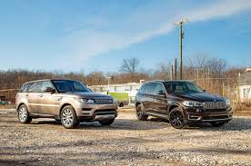 silver range rover 2016 electric or diesel bmw x5 xdrive40e vs range rover sport td6