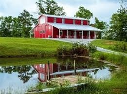 Red Barn Mt Vernon Mo Red Barn At Wilderness Ridge London Ky Wedding Venue