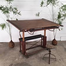 Large Drafting Table Large Antique Drafting Table Espace Nord Ouest