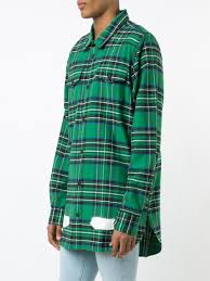 off white co virgil abloh jeans off white plaid shirt low price