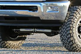 steering stabilizer dodge ram 2500 fabtech ram steering stabilizers taw all access