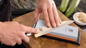 comment aiguiser un couteau de cuisine à aiguiser