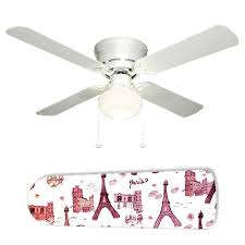 Pink Ceiling Fans by Paris Pink And Black Glitter Ceiling Fan W Light Kit Or Blades