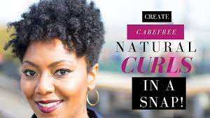 snap hair how to create carefree hair in a snap