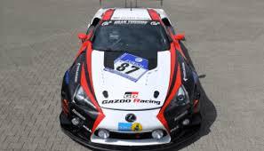 lexus lfa racing gazoo racing to compete at nürburgring with lexus lfa lexus