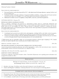 Sample Resume Objectives For Radiologic Technologist by Volunteer Responsibilities Resume Free Resume Example And