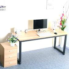 long computer desk for two long desk table macky co
