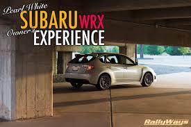 white subaru hatchback pearl white subaru wrx hatchback owner u0027s experience rallyways