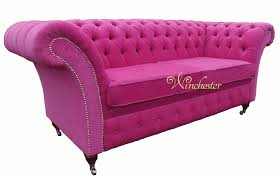 Fabric Chesterfield Sofas by 10 Pink Chesterfield Sofa Carehouse Info