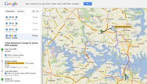 Google Live Maps Google Maps Adds Live Transport Information For Sydney U0027s Trains