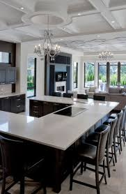 u shaped kitchen island 55 functional and inspired kitchen island ideas and designs