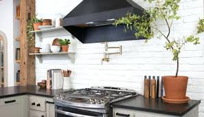 brick backsplashes for kitchens cool backsplash ideas cool kitchen best white brick ideas on