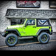 lime green jeep wrangler 2012 for sale lime green jeep wrangler sprayed at rhino linings of de jeep