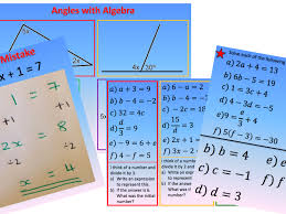solving linear equations 1 and 2 step