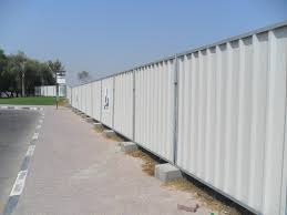 corrugated metal fence ideas with nice corrugated steel decking