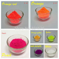 aliexpress com buy mixed 5 colors neon powder fluorescence