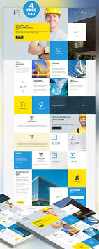 free templates for business websites construction business website free psd template download download psd