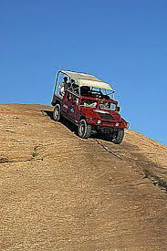 moab jeep trails moab hummer tours moab utah slickrock