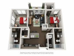 2 floor bed floor plans crimson a apartment community in tuscaloosa
