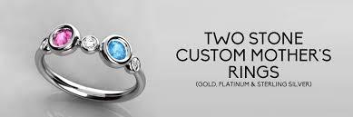2 mothers ring custom 2 s rings family rings