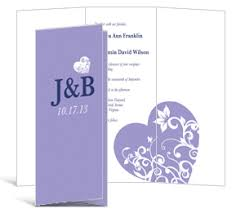Tri Fold Wedding Program Tri Fold Wedding Invitation 3 625 X 8 875 Tri Fold Invitations