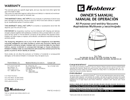 download free pdf for koblenz pv 500 k vacuum manual