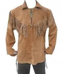 men s mens fringe jacket ebay
