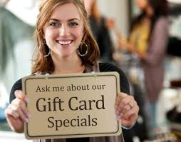 where can i sell gift cards in person 8 ways to sell more gift cards in your restaurant troyers