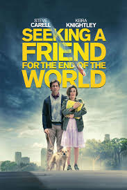 Seeking Poster Seeking A Friend For The End Of The World Dvd Release Date October