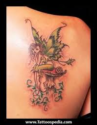 Fairy And Flower Tattoo Designs Tattoos On Pinterest Tree Of Life Tattoos Dark Fairies And Lotus