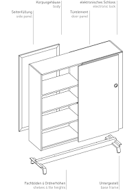 rollcontainer vs wp products sliding door cabinet