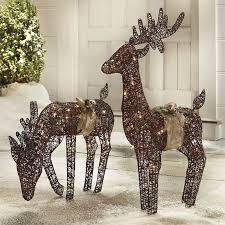 pretty reindeer outdoor decorations decor ideas