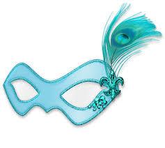 womens masquerade masks12 christmas tree mardi gras masquerade mask clip blue with fleur de