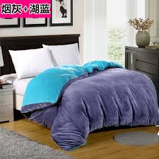 online shop coral fleece duvet cover separate thickening flannel