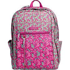 vera bradley home decor vera bradley grand backpack ditsy dots shop by pattern