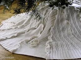 white tree skirt sweater tree skirt hometalk