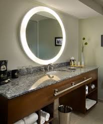 mirrors bathrooms trinity lighted mirror electric led mirrors bathrooms at the hotel