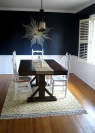 Wanting To Paint A Room Navy Maybe Our Dining Room For The - Navy and white dining room