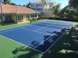 lighted tennis courts near me our newly renovated tennis court lighted for night play picture