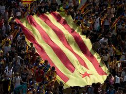 supporters demonstrate for catalonia independence vote