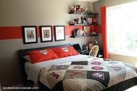 how to decorate a guest room teen boy bedroom reveal landeelu com
