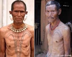 tattoos for men indian lars krutak tattooed tiger men of india lars krutak